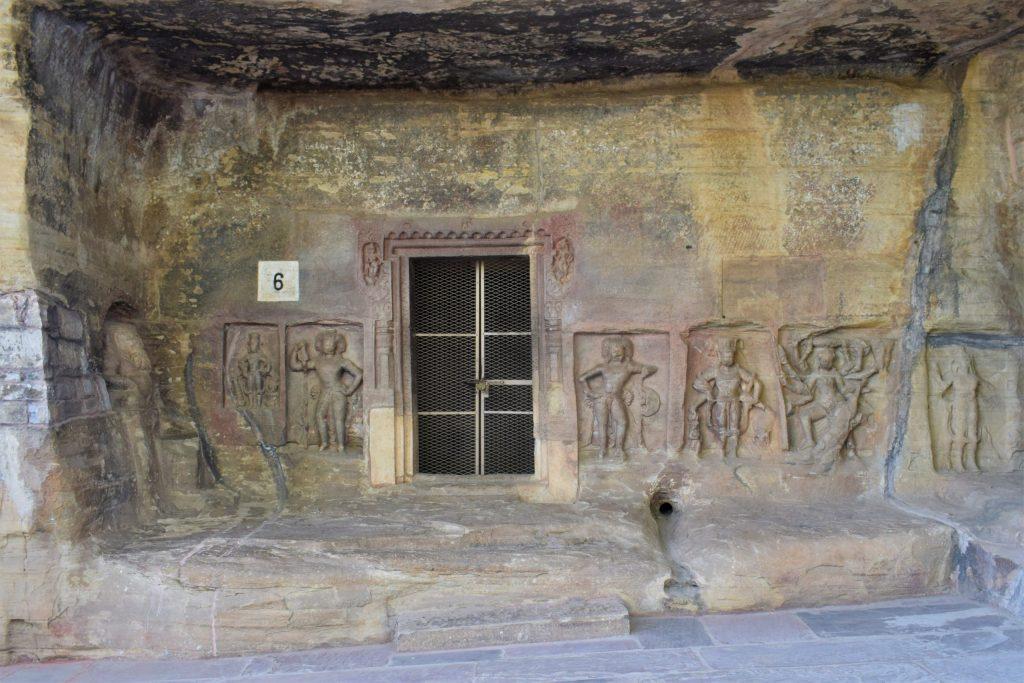 Cave 6 at Udayagiri Caves
