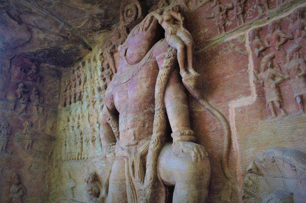 Varaha at Udayagiri Caves