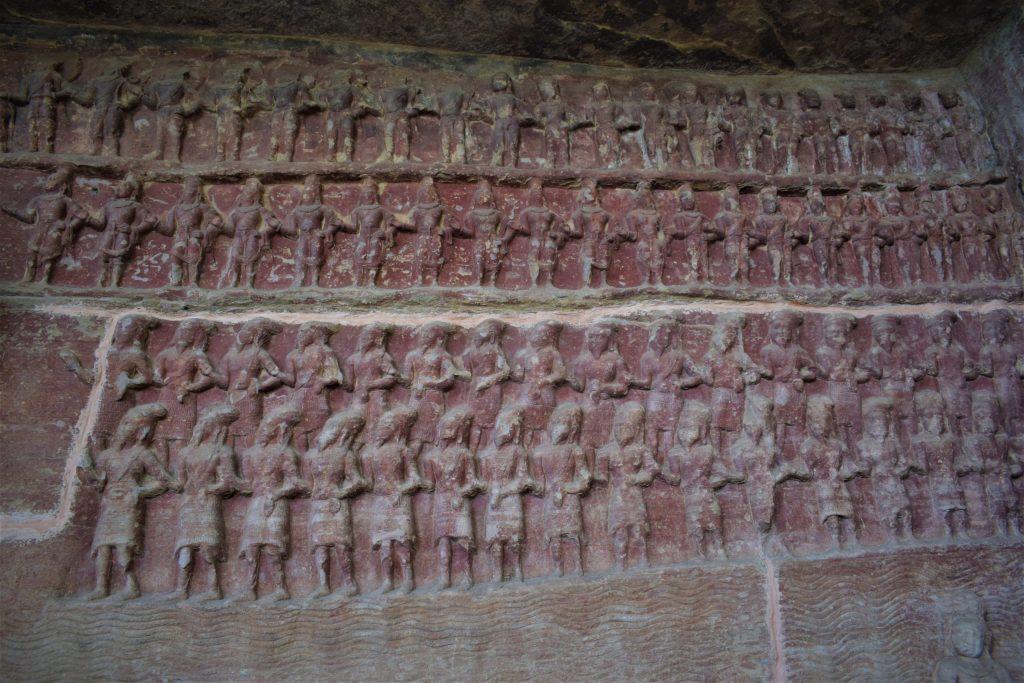 Cave No. 5 at Udayagiri Caves