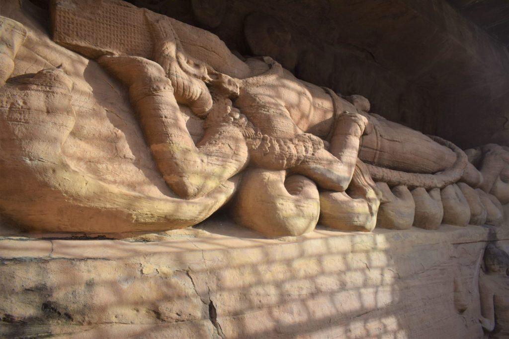 Sheshashayana Udayagiri Caves