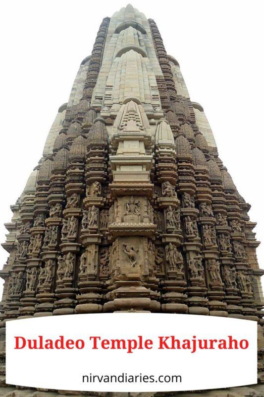 Duladeo Temple Khajuraho