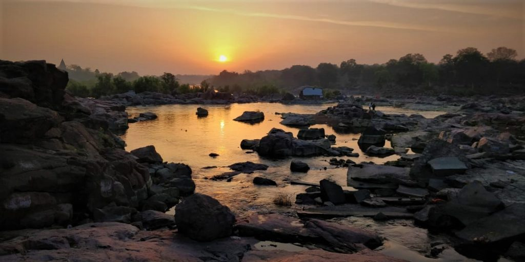 Sunrise over the Betwa River