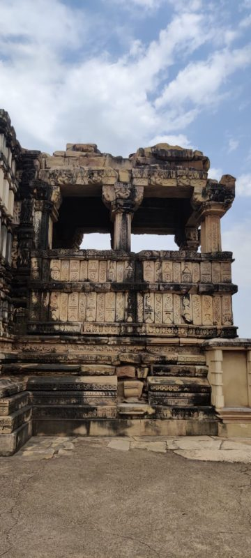 Mandapa of Duladeo temple
