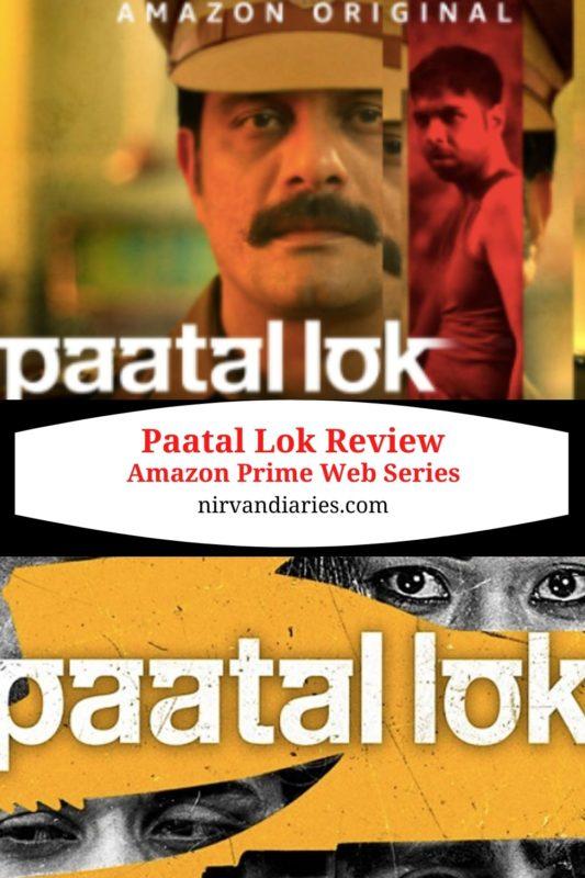 Paatal Lok - Amazon Prime Web Series