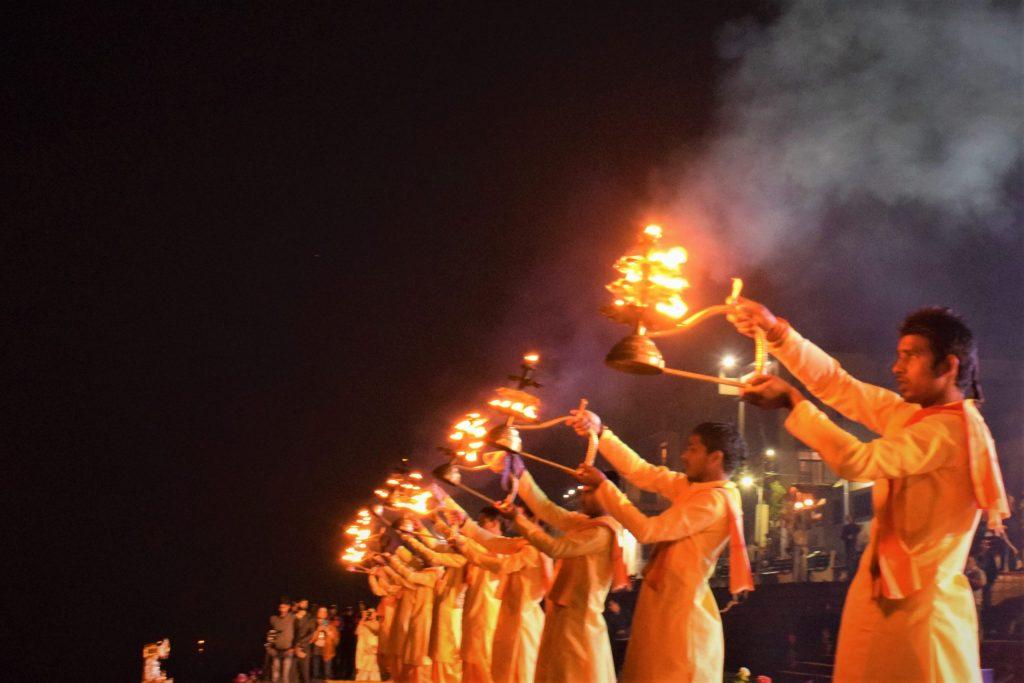 Top 5 Summer Destinations In India - Ganga aarti at Rishikesh