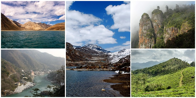Top 5 Summer Destinations In India