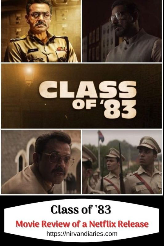 Class of '83 Review of a Netflix Release