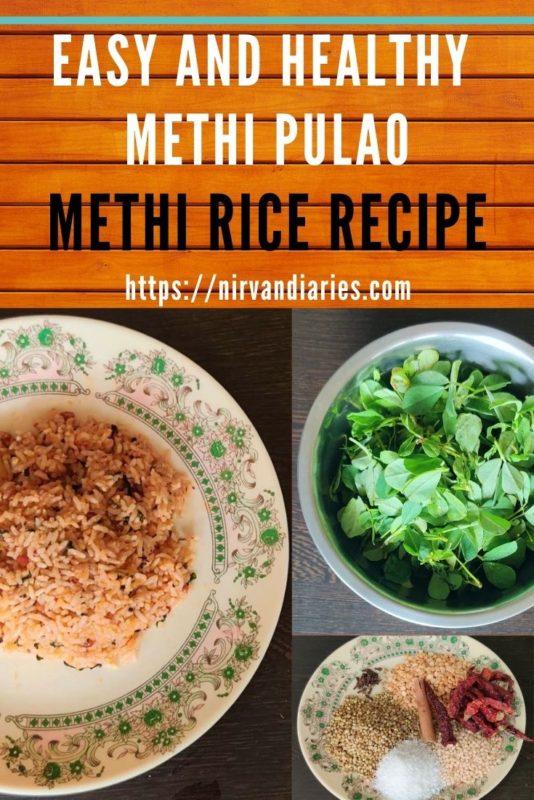 Methi Pulao Recipe